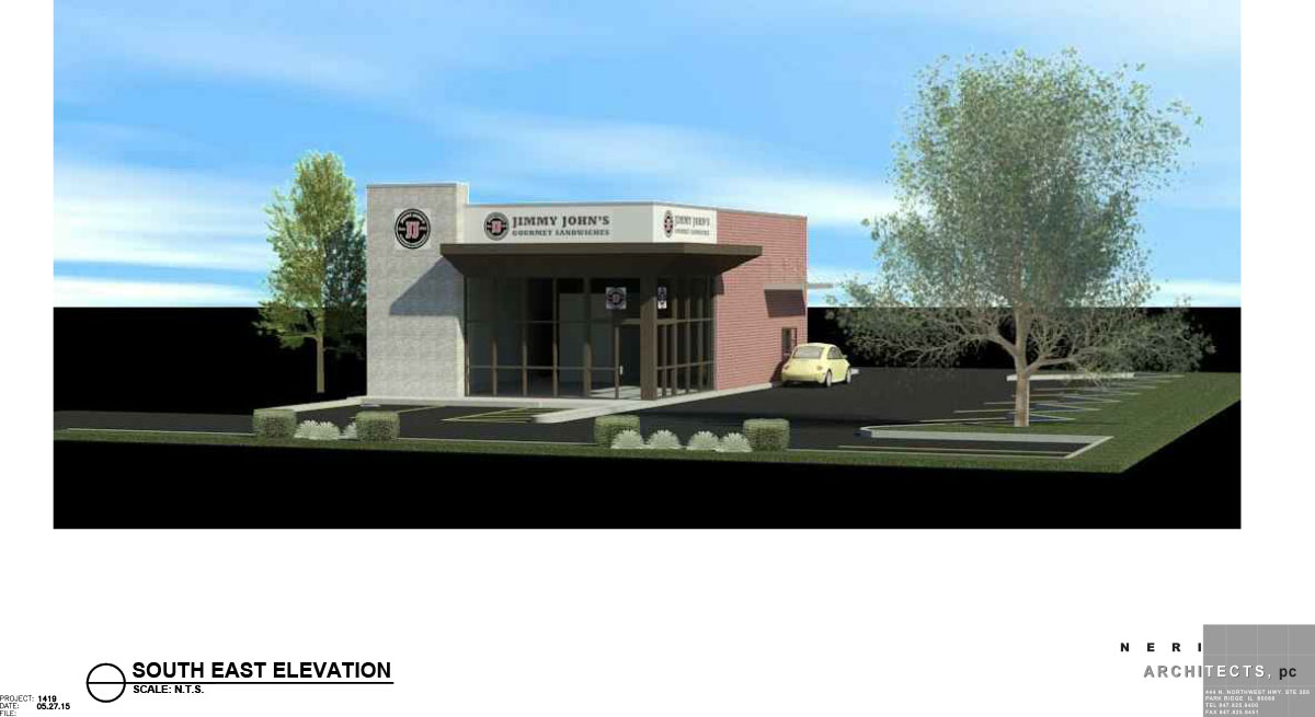 Rendering of Jimmy John's