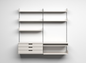 An example of flexible storage space.